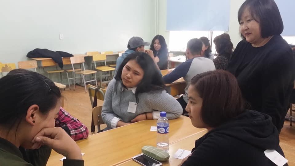 """""""NUCB-Students' Speaking Club""""-ын нээлт боллоо"""